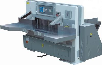 QZYK1150D Program Control Double Hydraulic Double Guide Paper Cutting Machine