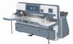 QZYK1300D Program Control Double Hydraulic Double Guide Paper Cutting Machine